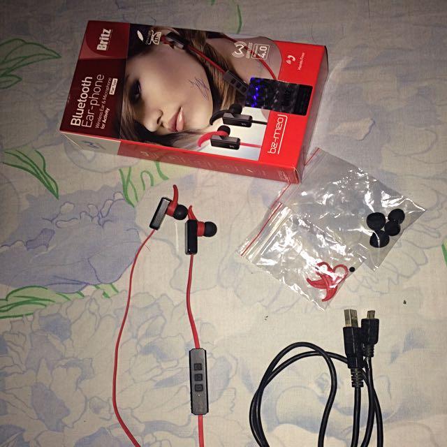 Headset Bluetooth Britz - Used