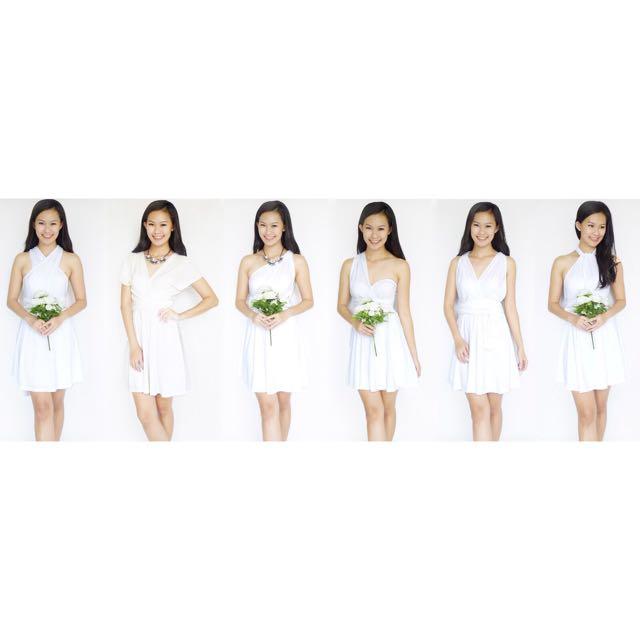 Infinity Dress (White)