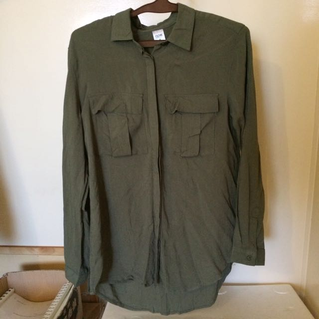 Khaki Long Sleeve Too