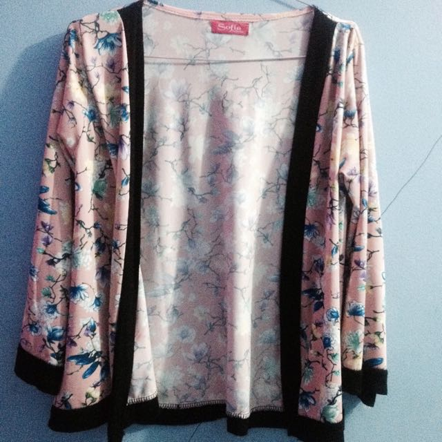 Kimono outer bahan spandex