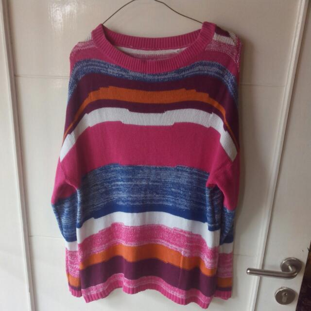 Knitted Rainbow Shirt