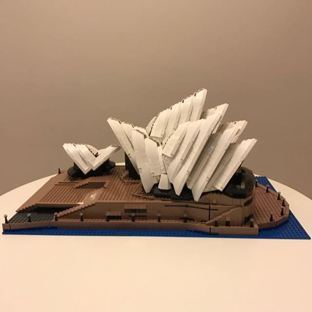 Lele Not Lego Expert 10234 Sydney Opera House Toys Games On