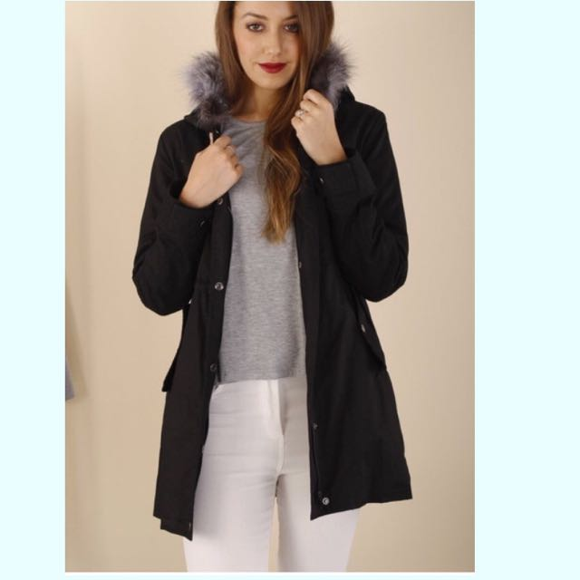 Limited Edition Parka With Fur