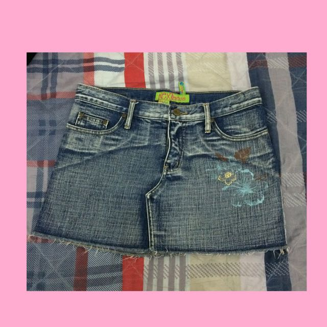 Next Jeans Skirt