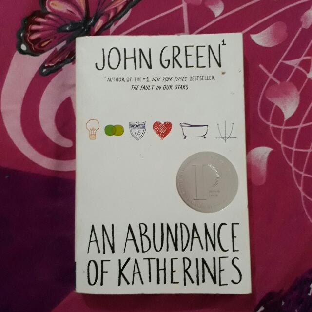 Novel John Green - An Abundance Of Katherines