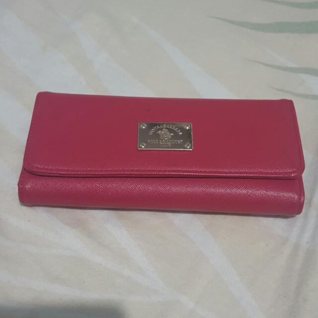 Pre Loved Red Wallet