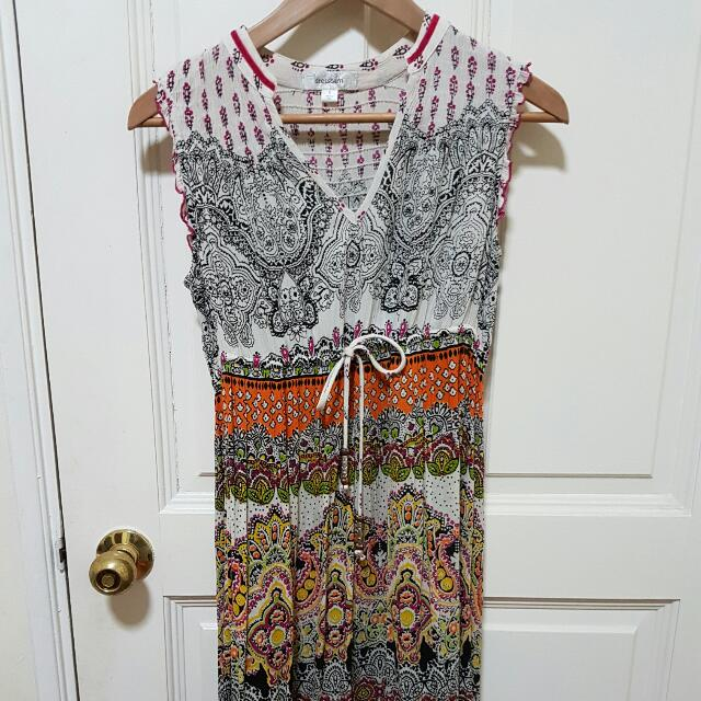 Printed Dress From Dressbarn Women S Fashion Clothes