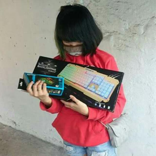 RGB Keyboard And Mouse (Bundle)