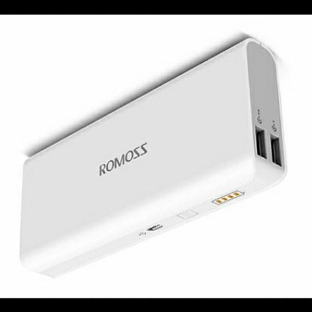 Romoss Sense 4 10400mah Power Bank (white)