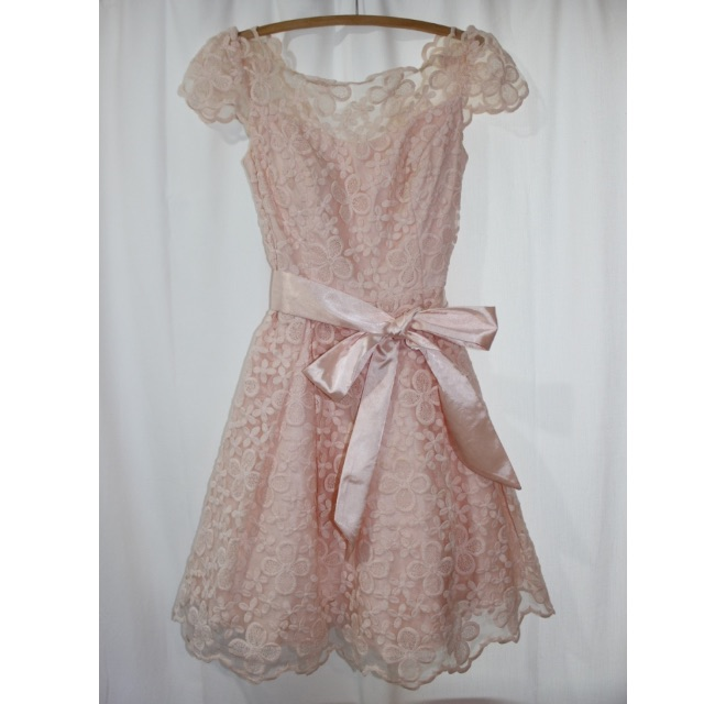 Size 8 J'Adore dress. Dustry pink, floral.