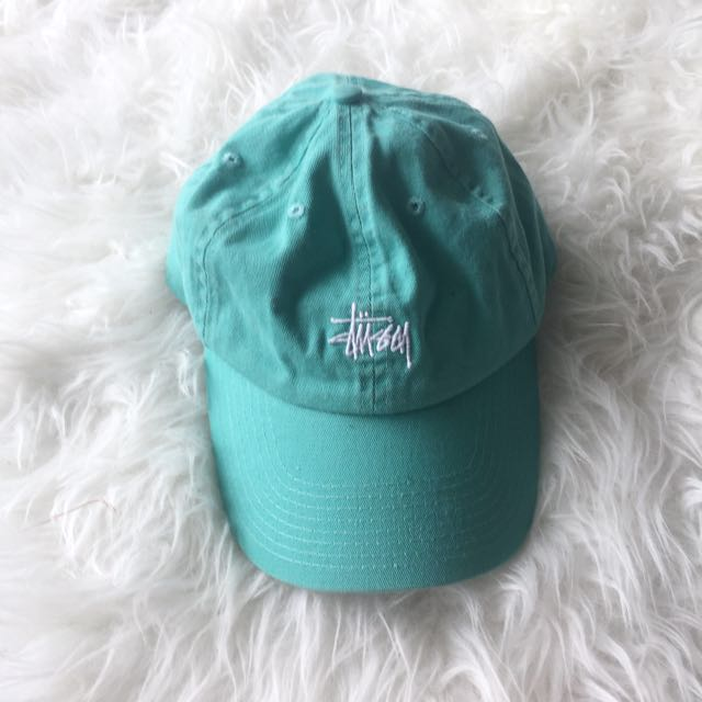 STUSSY: Mint Cap