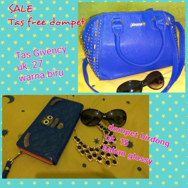 Tas Givency Free Dompet