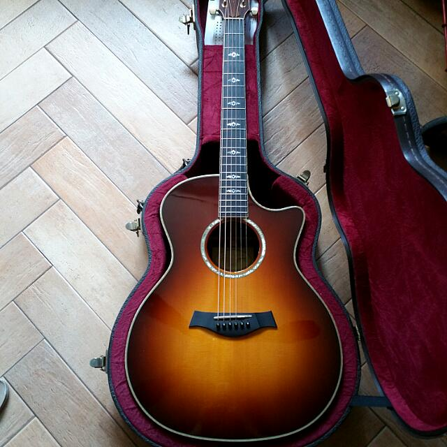 Taylor 814ce Limited Edition Honey Sunburst (LIMITED RUN