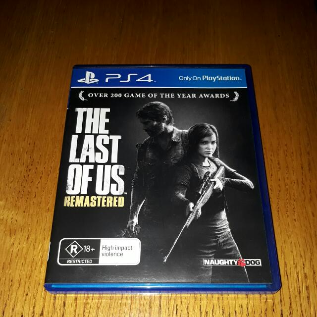 The Last Of Us : Remastered PS4 (Free Posting)