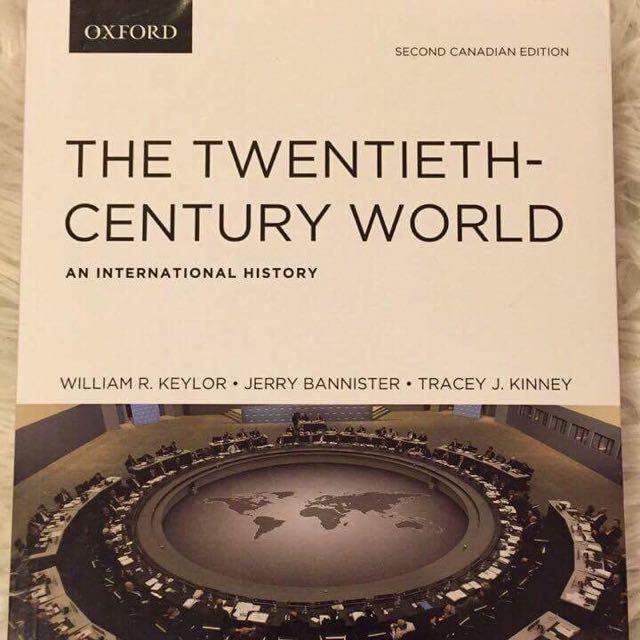 The Twentieth Century World (An International Approach)