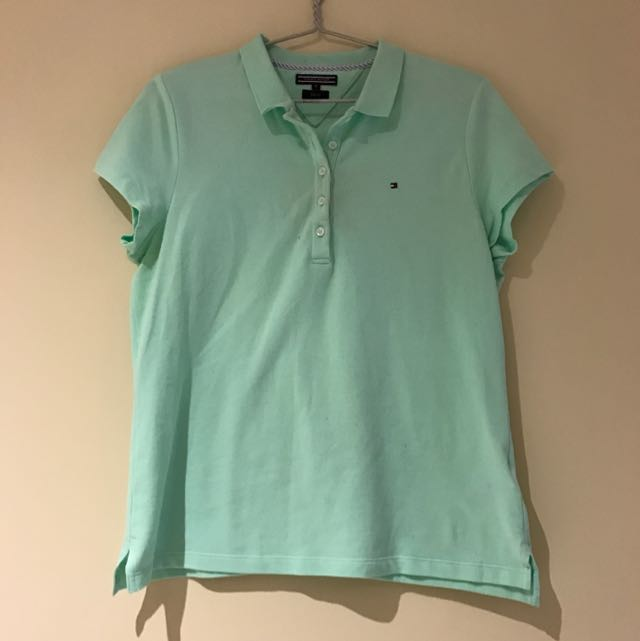 Tommy Hilfiger - Mint Green Polo