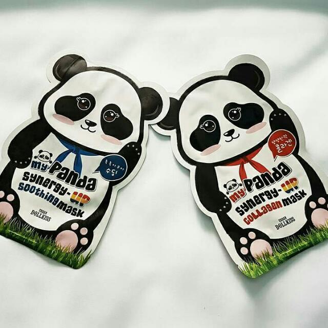 Urban Dollkiss My Panda Synergy-Up Mask