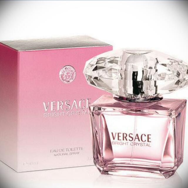 VERSACE Bright Crystal 香水 50mI  (含運) #粉紅 #送禮 #交換禮物