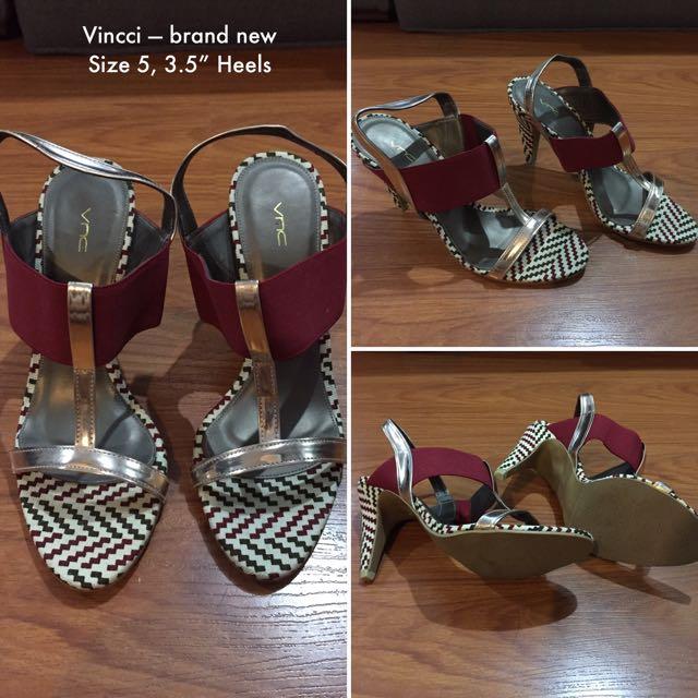 Vincci Sandals Size 5