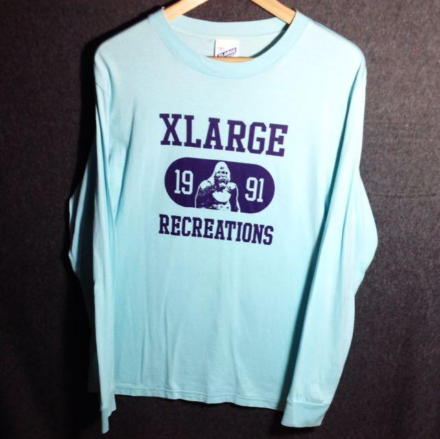 日本品牌X LARGR 長袖上衣