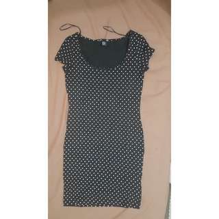 H&M Mini Dress (polkadot)