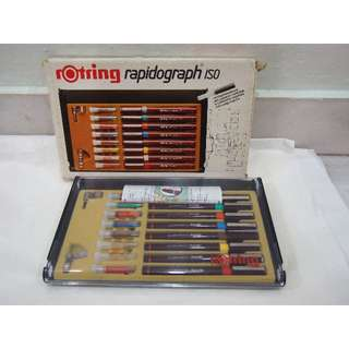 ROTRING Rapidograph technical colour drawing pens
