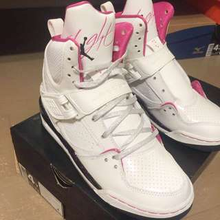 girls Jordan flight 45 high GS