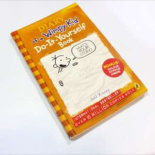 Diary Of A Wimpy Kid- Do It Yourself Book