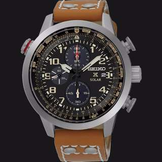 SSC421P1 - CNY OFFER for NEW SEIKO SOLAR PROSPEX 100M FLIGHTMASTER CHRONOGRAPGH SPORTS WATCH
