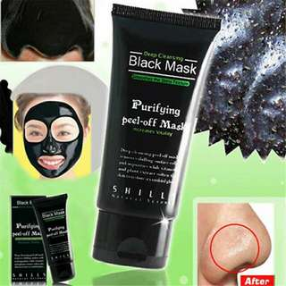 Black Peel Off Purifying Mask