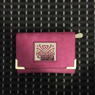 New Pink And Gold Purse