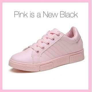 Pastel Pink Sneakers Import
