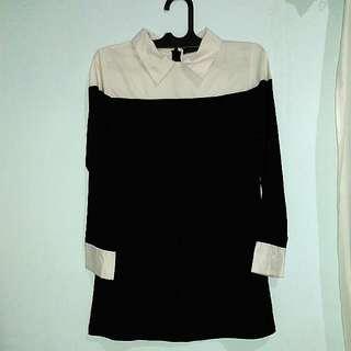 Mini Dress Kemeja