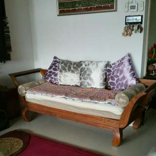 Long Chair (Teak Wood)
