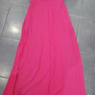 Size 2 Pink Halter Dress