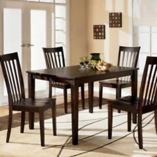 Dark wood Dining Table with chairs