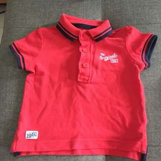 Baby Red Polo T