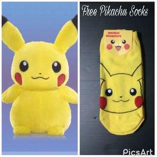Pikachu Plush (Changi airport Exclusive)
