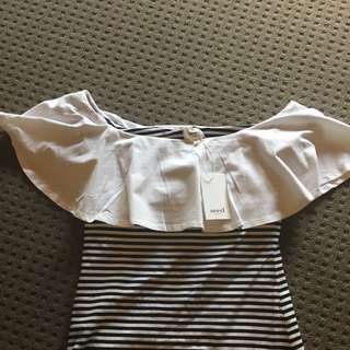 Seed Off The Shoulder Top - XS