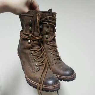 Frye Heeled Boots