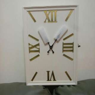 造型木質鑰匙時鐘