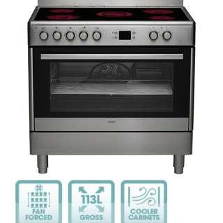 Electric Oven + Ceramic Cooktop | CS90s
