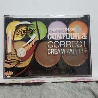 City Color Contour N Correct Cream Pallete
