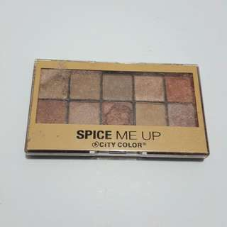 City Color Spice Me Up Eyeshadow