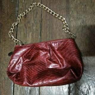 Repriced! Preloved Pouch Bag