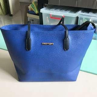 Harper & Smith Blue Tote Bag