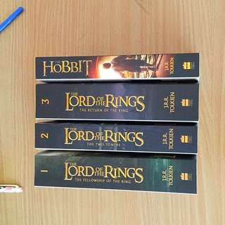 Lord Of The Rings Book Series