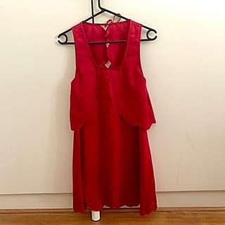 Red maxim Dress