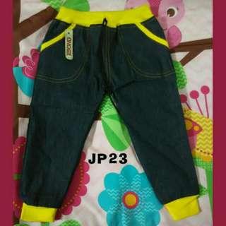 Celana Panjang Jogger Pant Jeans Bayi N Balita 3th. MURMER