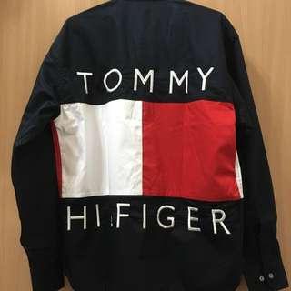 Tommy 90年代古著襯衫 原單復古復刻 稀有品